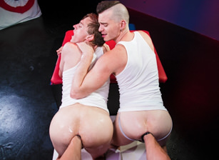 gay muscle porn clip: World Series of Fisting - Axel Abysse & Colin Bryant & Joey D, on hotmusclefucker.com