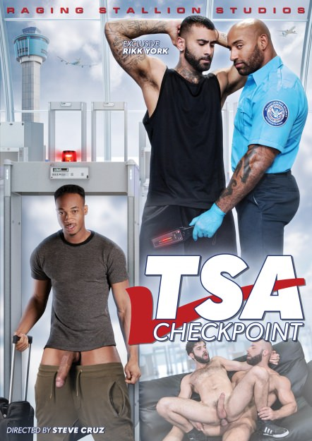 TSA Checkpoint Dvd Cover