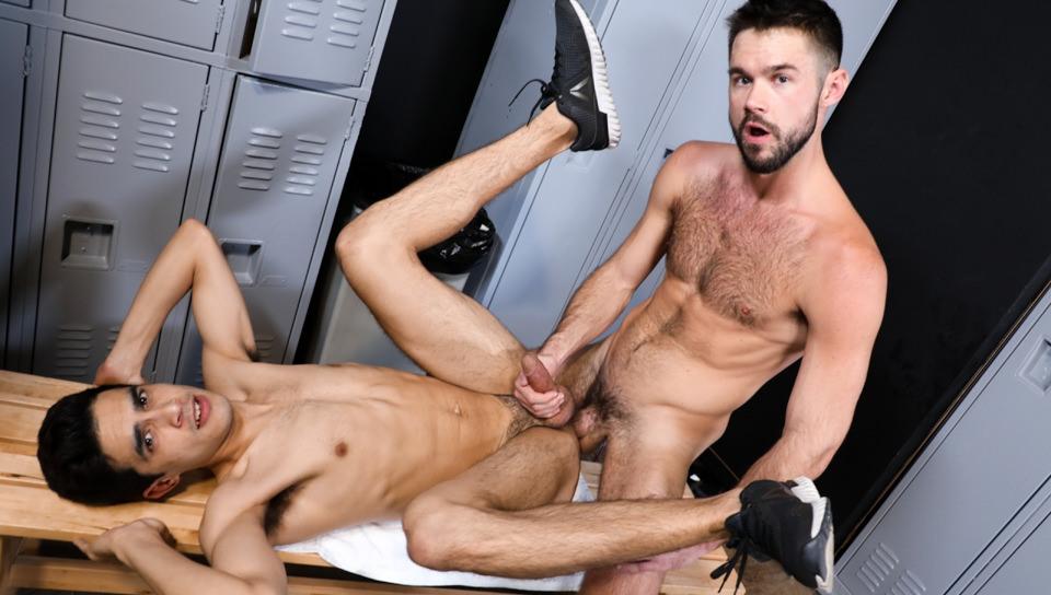 mike de marko locker room gay video