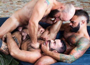 gay muscle porn clip: Do Me For The Likes - Carlos Lindo & Drake Masters & Max Duro, on hotmusclefucker.com