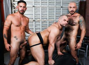 gay muscle porn clip: Fucking Alpha Style - Cesar Rossi & Jaxx Thanatos & Julian Torres, on hotmusclefucker.com