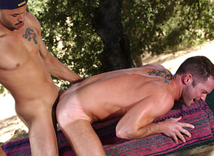 gay muscle porn clip: The Road To Temptation - Ricky Martinez & Tag Adams, on hotmusclefucker.com