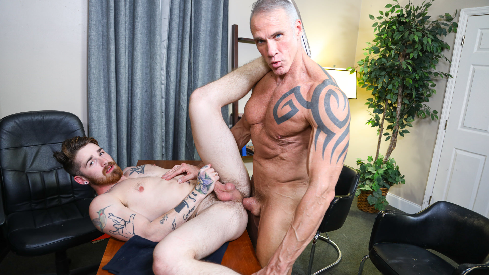 The Principal's Office Part 2 - My Best Friend's Stepdad Is Gay