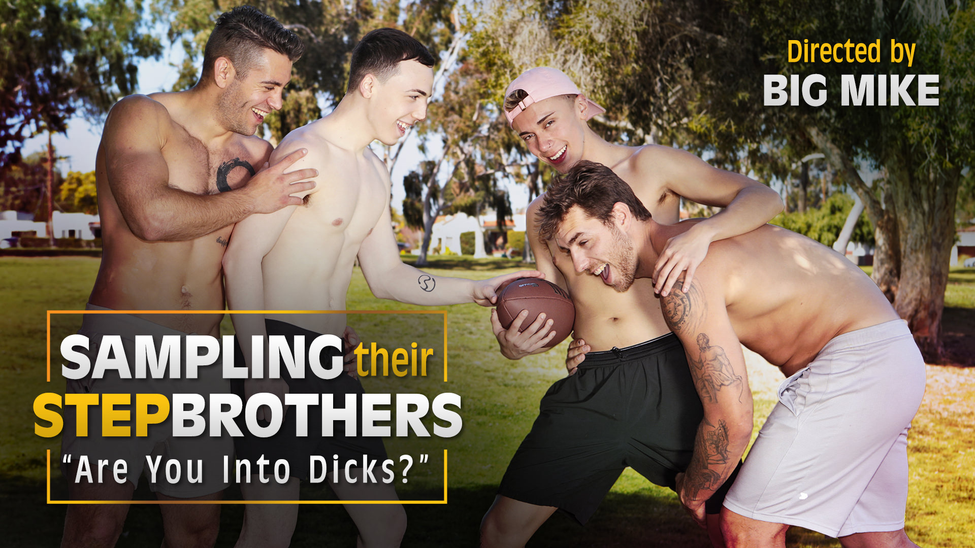 Sampling Their Stepbrothers - Are You Into Dicks?
