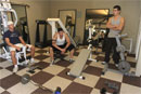 Hot Gym Orgy picture 1