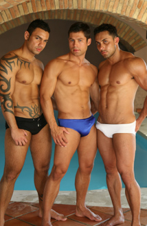 Pride, Part 2: Gustavo Arrango, Arthur Gordon & Ricci Julian Picture