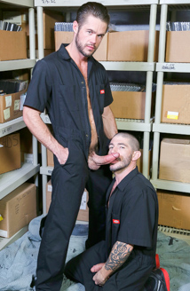 Screwing My Warehouse Buddy Picture